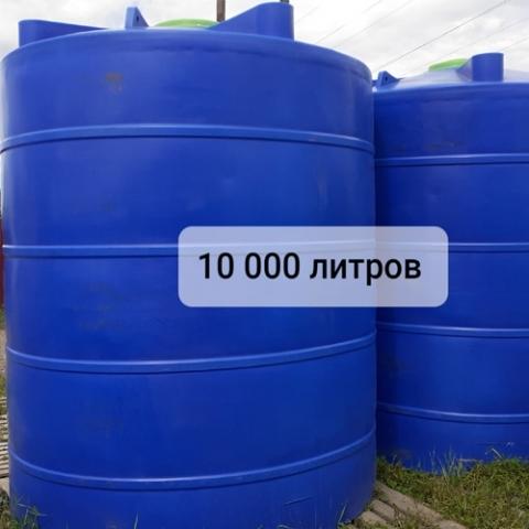 ЕМКОСТЬ ТЦВП-10000 НА ОПОРЕ