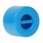 Заглушка для трубы ПНД 20 мм